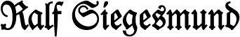 Logo Ralf Siegesmund