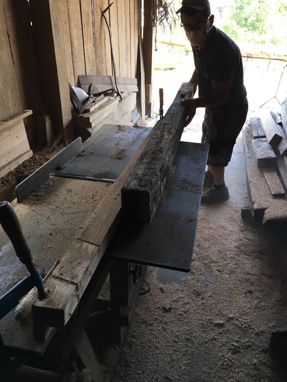 Holzbanken